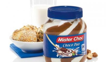 Mister Choc. Choco Duo Шоколадно-ореховая паста